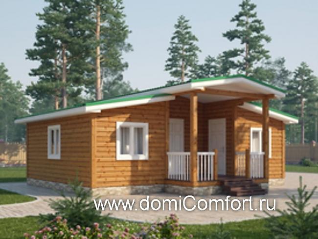 Купить недорого готовый дом из бруса