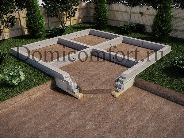 Фундамент монолитная плита толщина должна быть