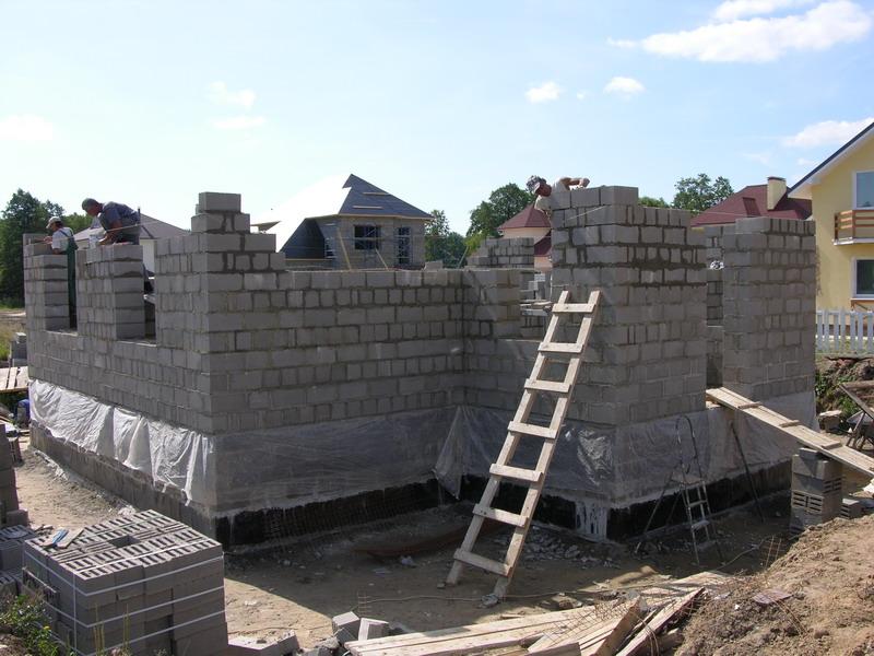 Строительство загородных домов из