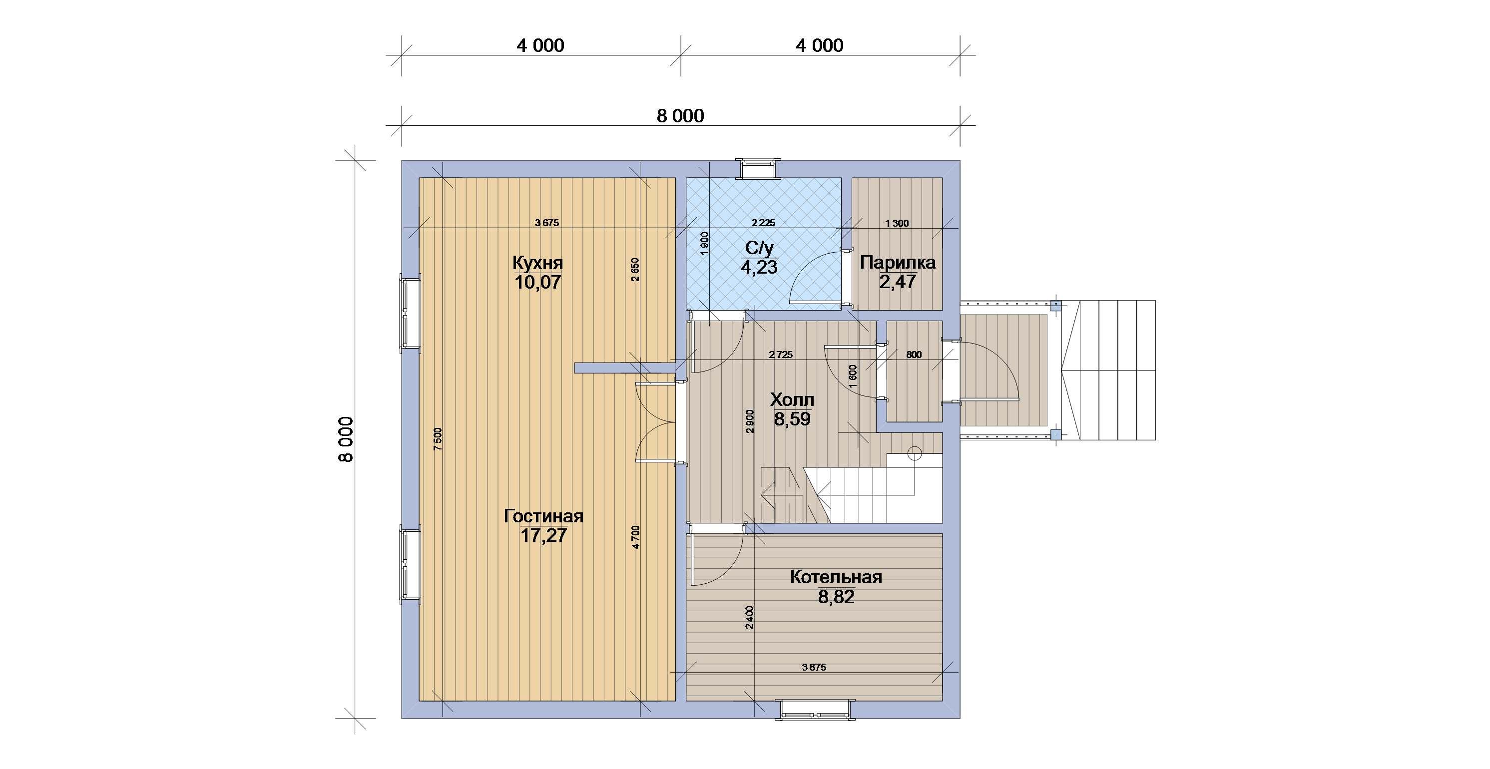 Проекты и планировка дачных домов