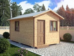 Хозблок 5х3 двухскатная крыша