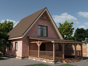 Деревянная терраса 6х6
